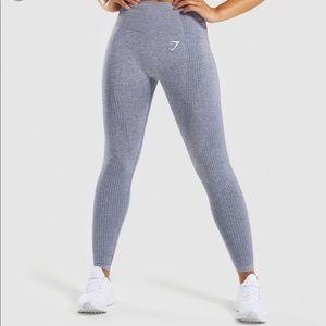 Gymshark vital seamless legging - Blue steel marl